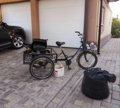 велосипед для садовника