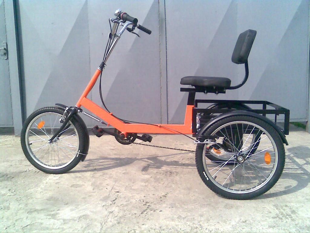 трехколесный велосипед для пенсионера
