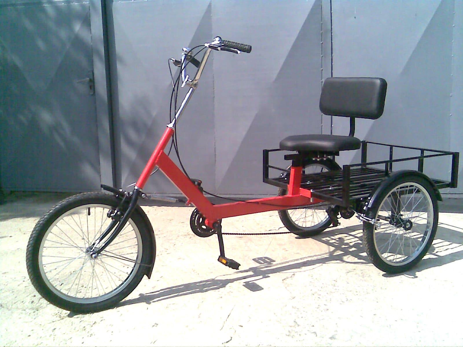 грузовой велосипед для полных людей