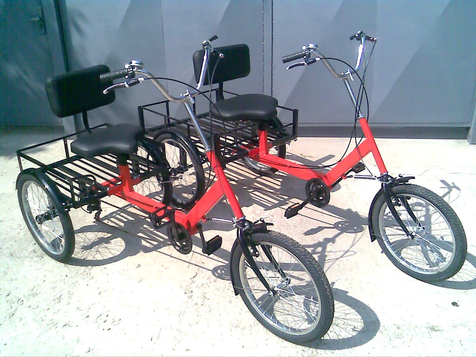 грузовые велосипеды с креслом
