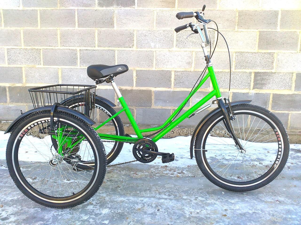 трехколесный велосипед 12 скоростей