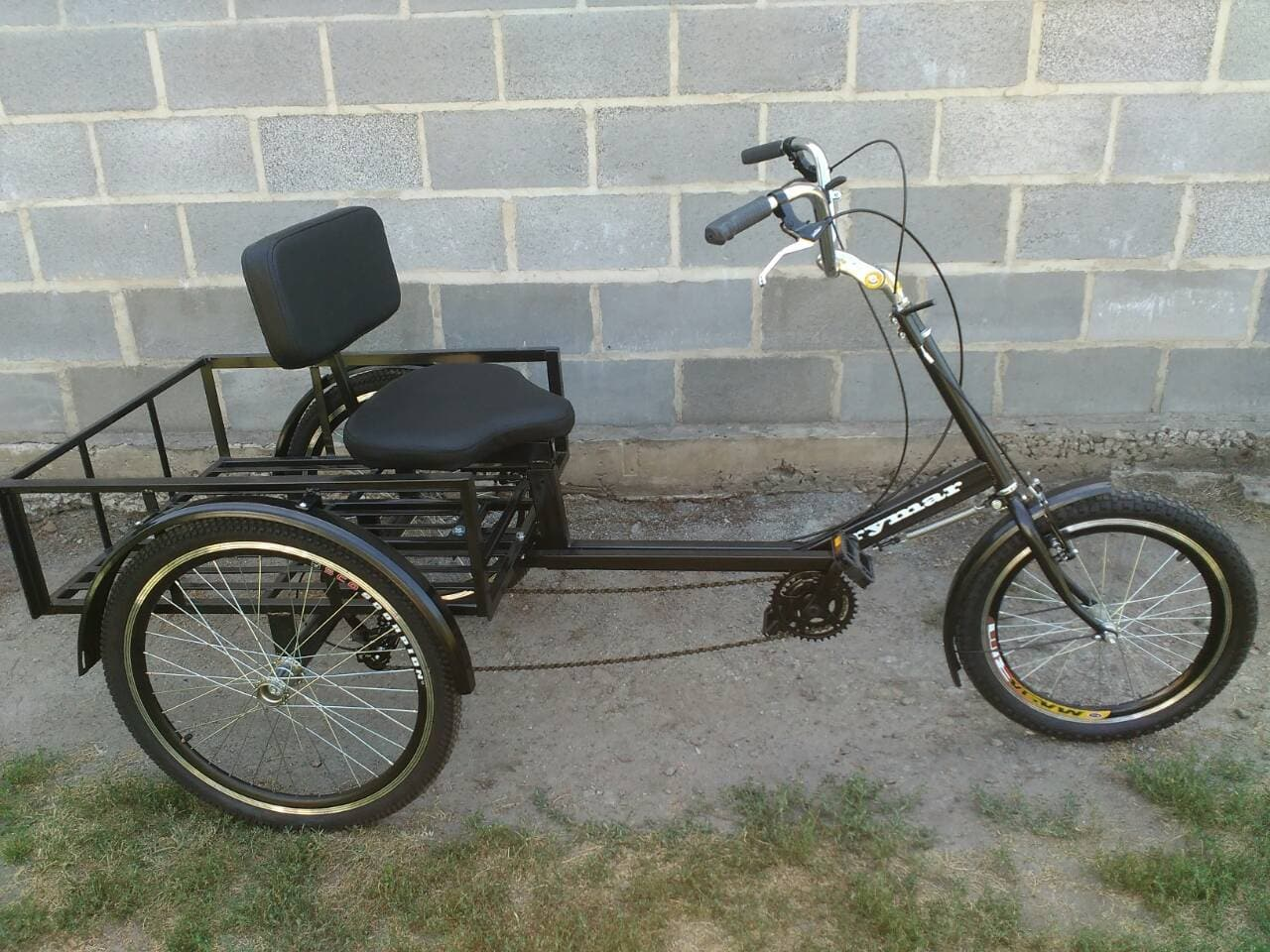 велосипед для дачи грузовой