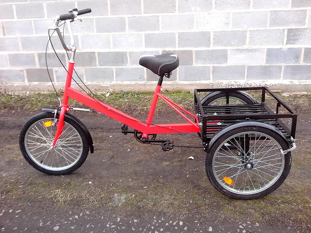 велосипед с грузовой платформой