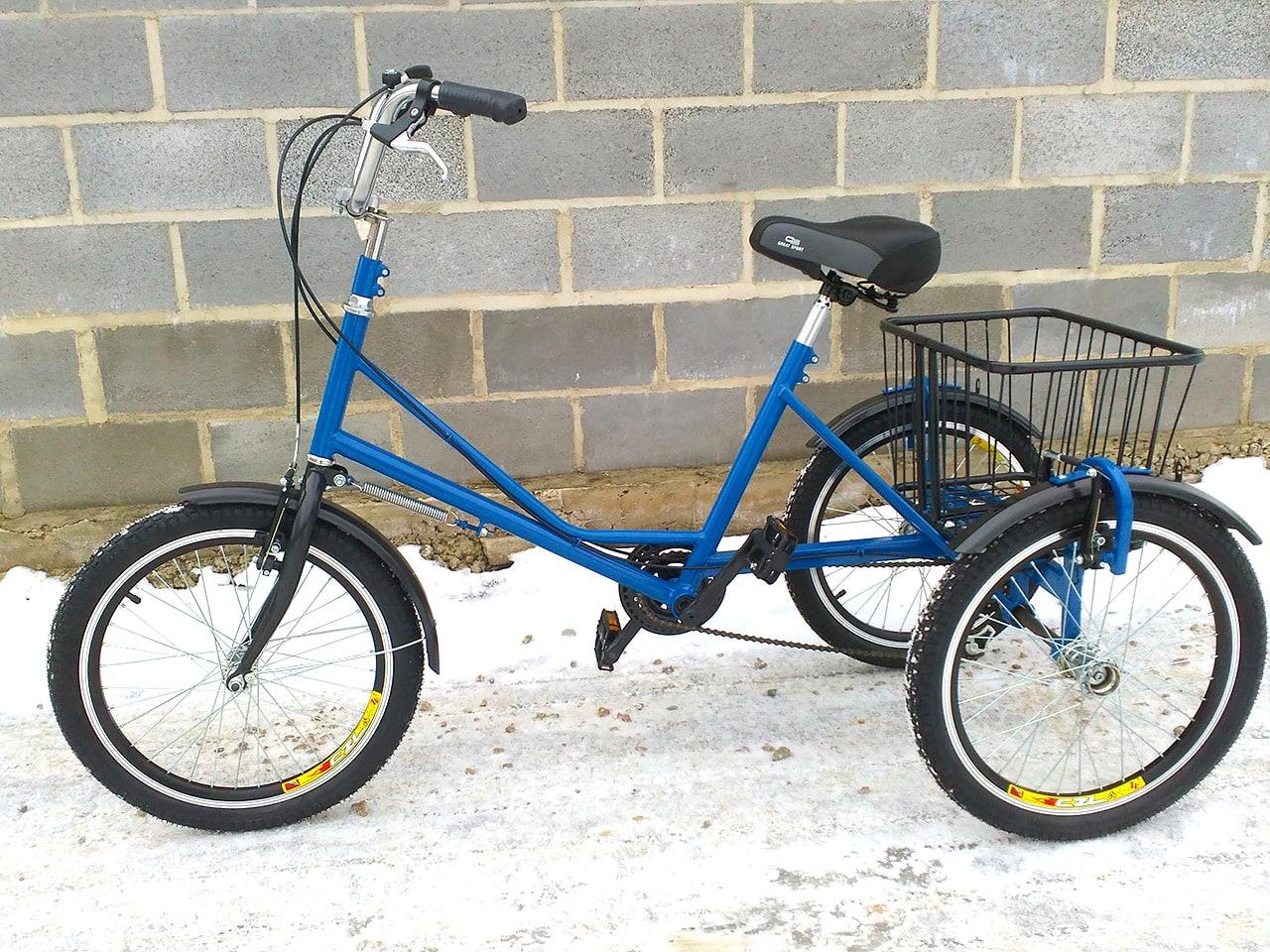 трехколесный велосипед для взрослого