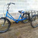 Трехколесный велосипед Греция