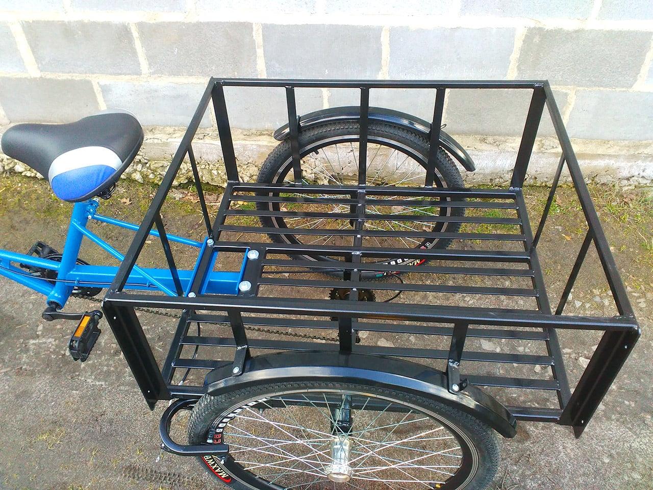 Грузовая платформа грузового велосипеда