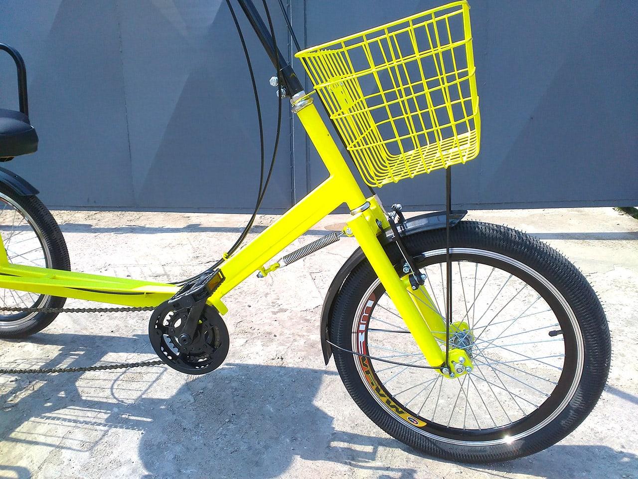 корзина для трехколесного велосипеда