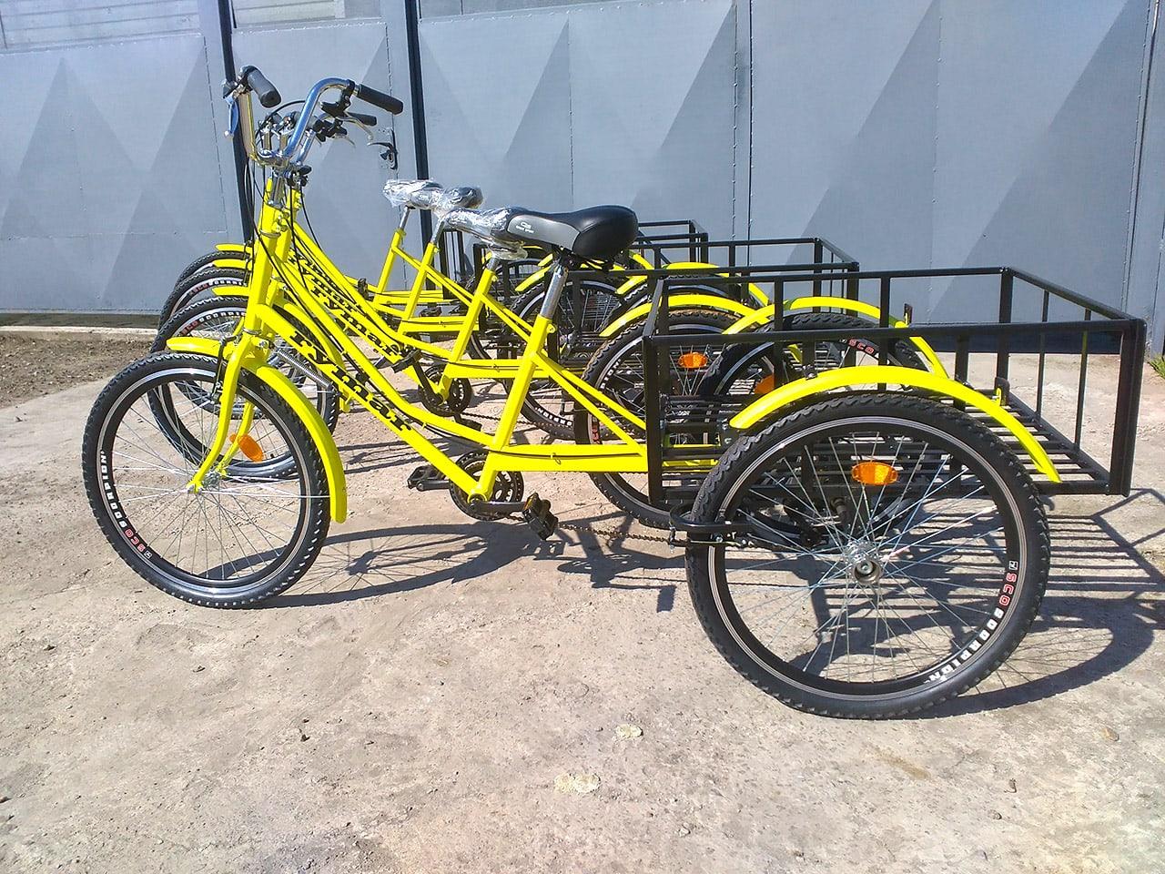 Трехколесные велосипеды в Полтаве