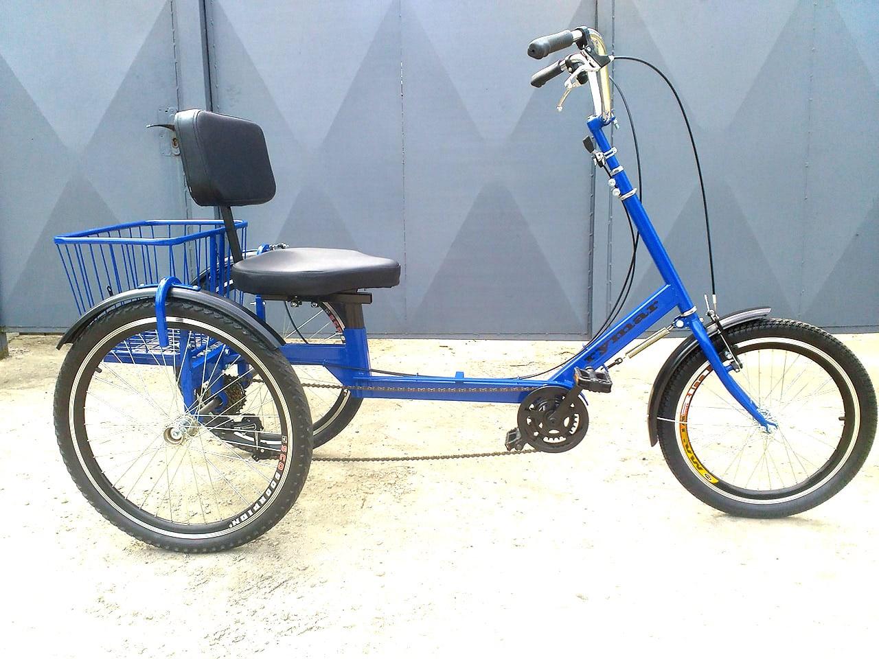 три колеса велосипед