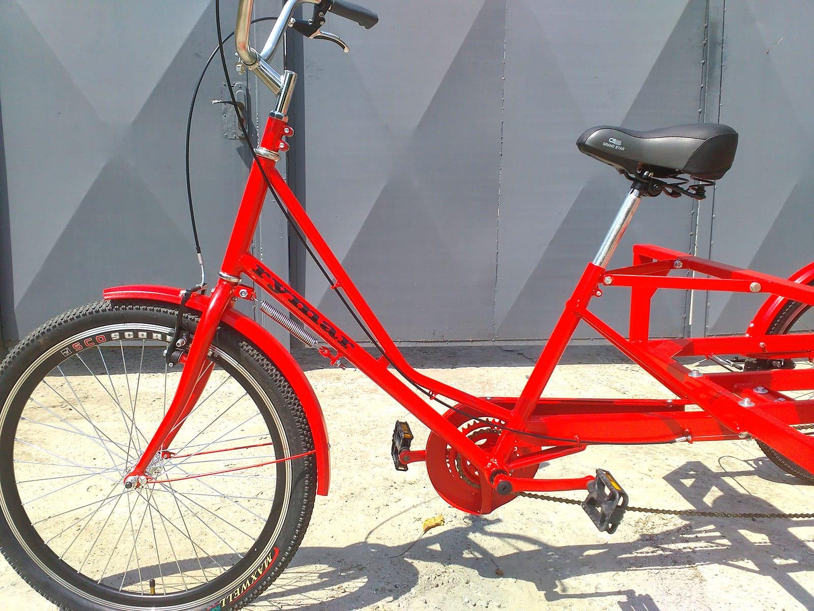красивый велосипед