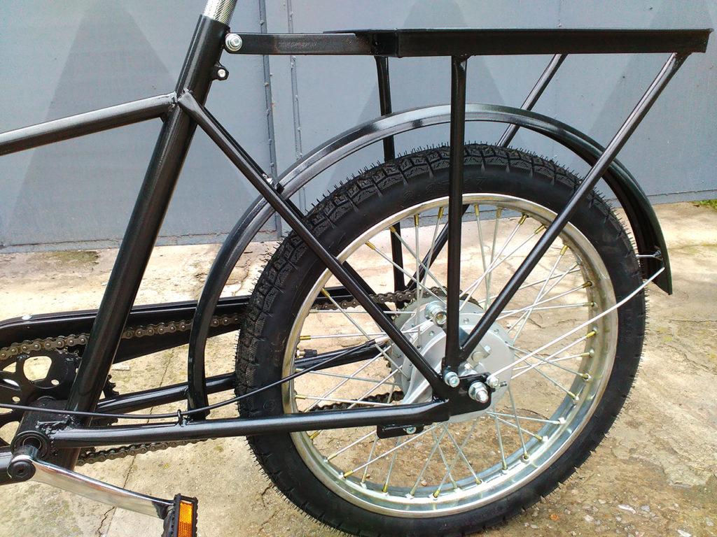 багажник для трехколесного велосипеда