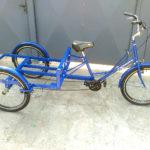 необычный велосипед трехколесный
