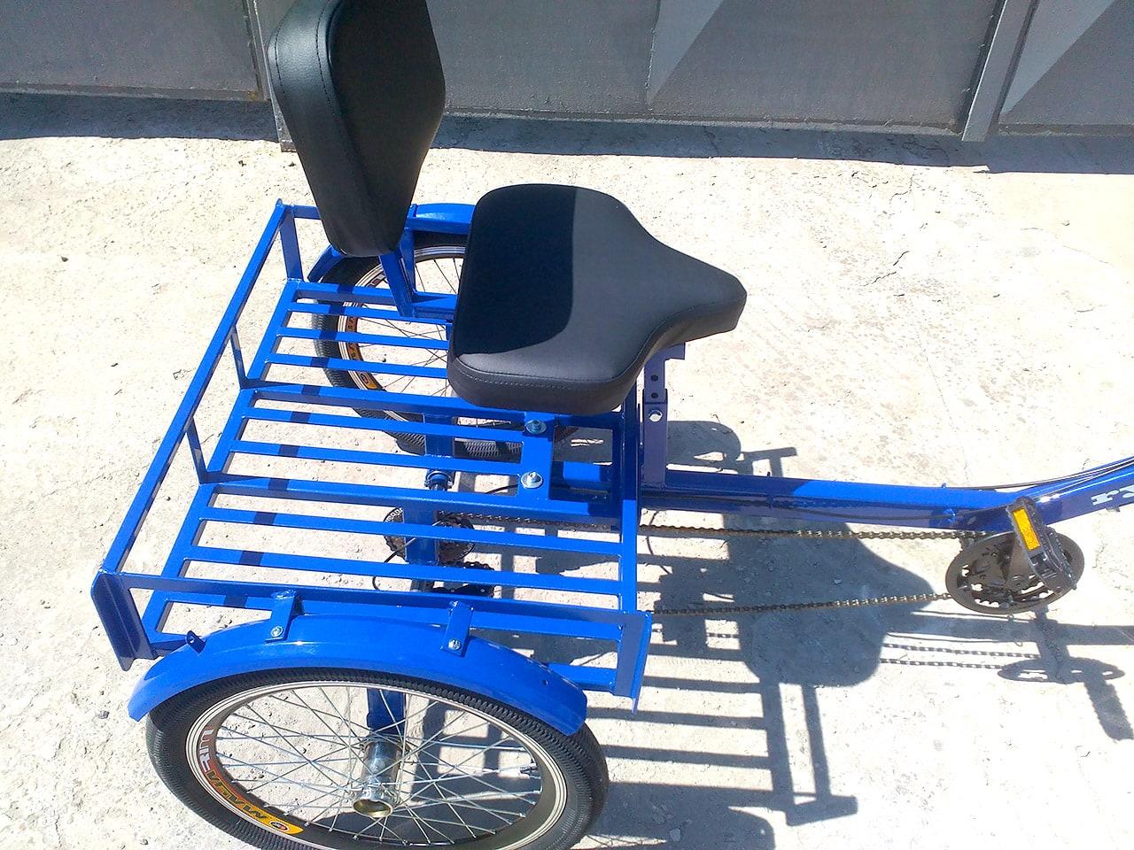 мягкое кресло для велосипеда