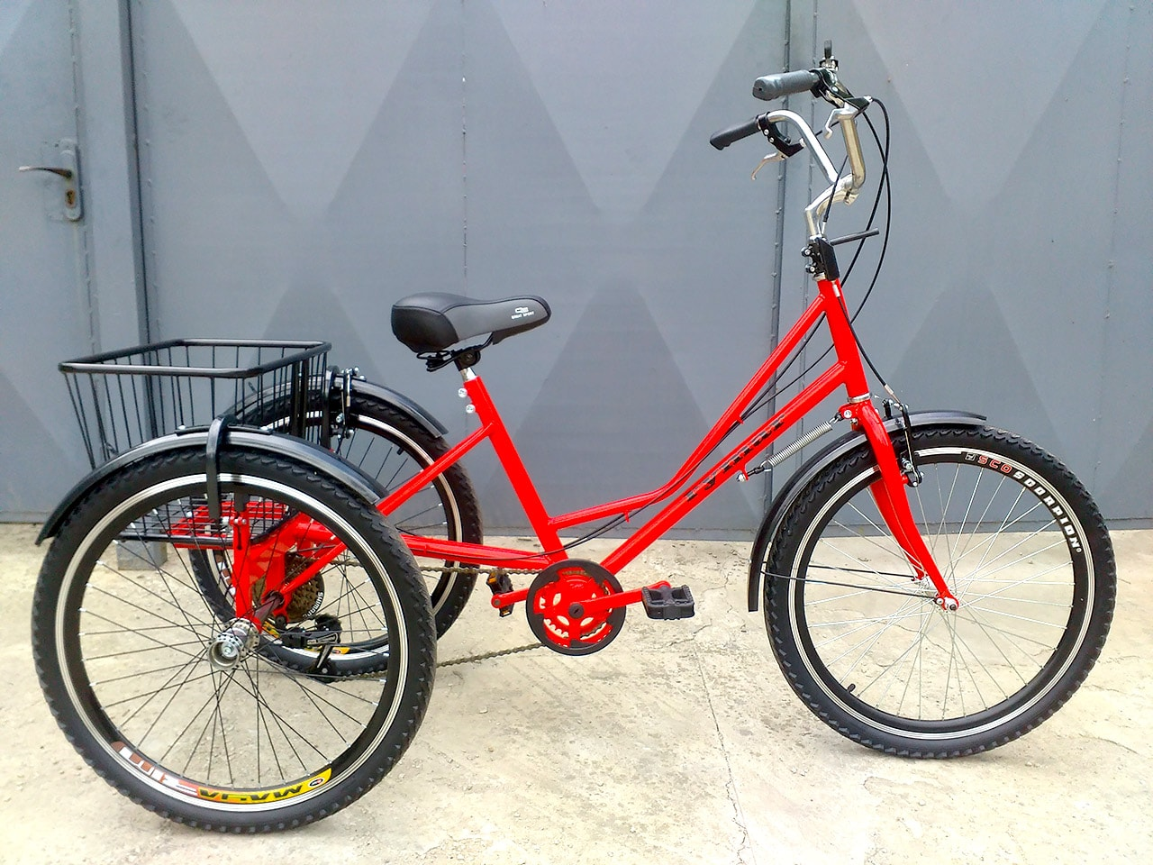 3 kolesa