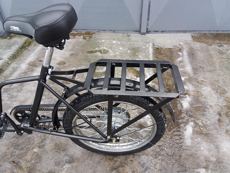 багажник для велосипеда своими руками