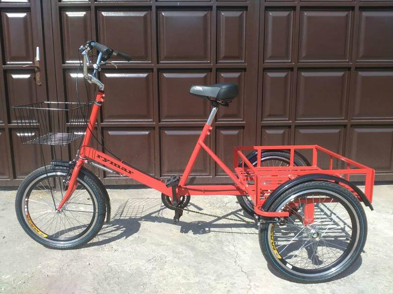 грузовой велосипед для дачи фото