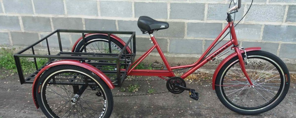 грузовой велосипед rymarbike