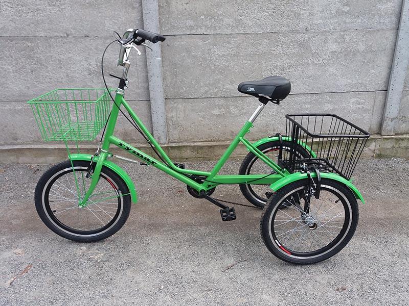 городской велосипед трехколесный