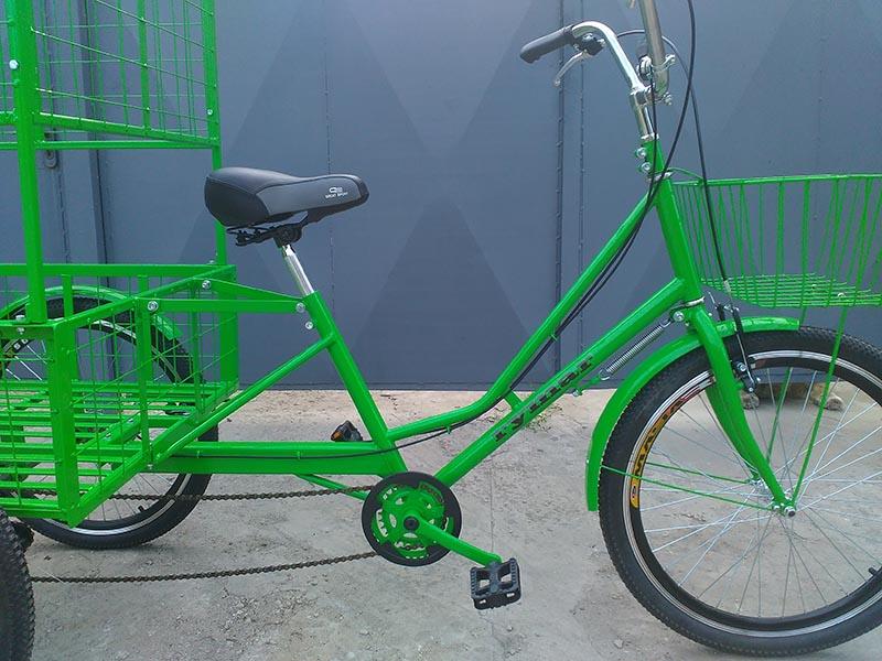 передняя корзина для велосипеда