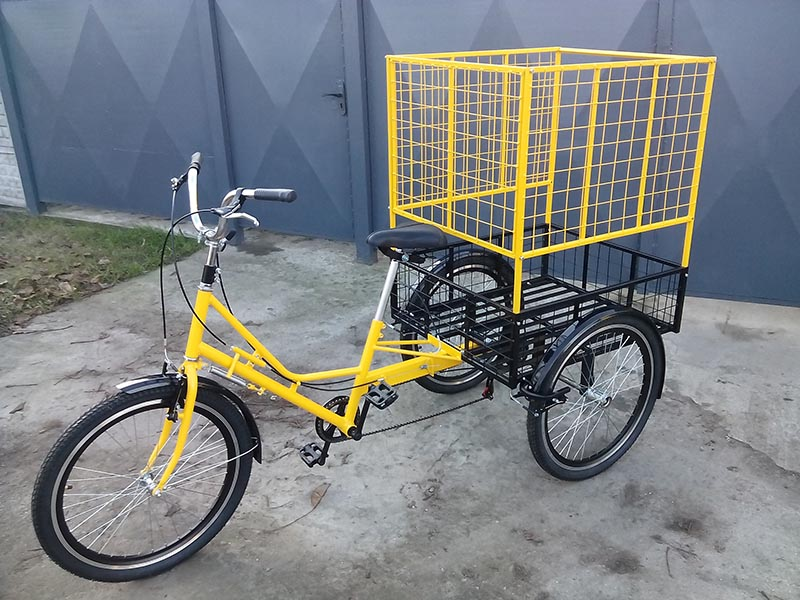 велосипед для перевозки объемных грузов