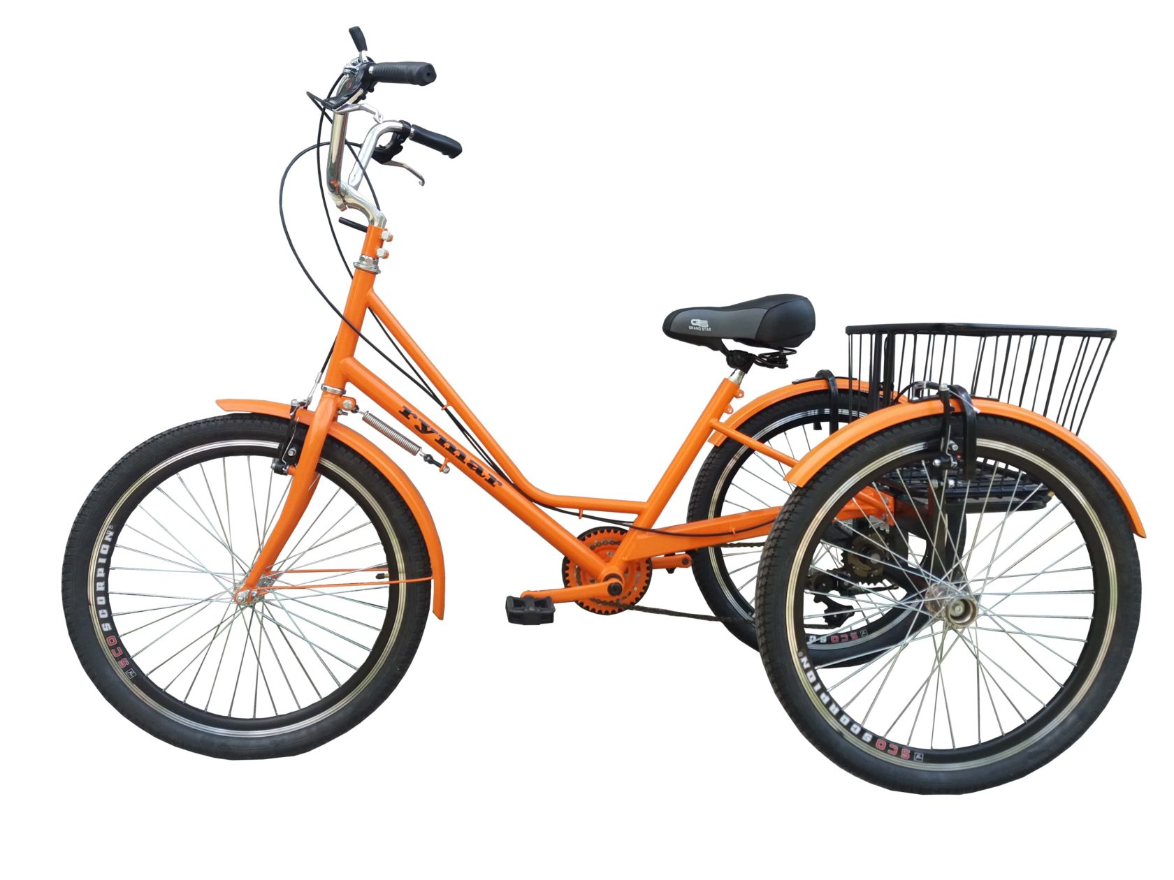 велосипед городской трехколесный