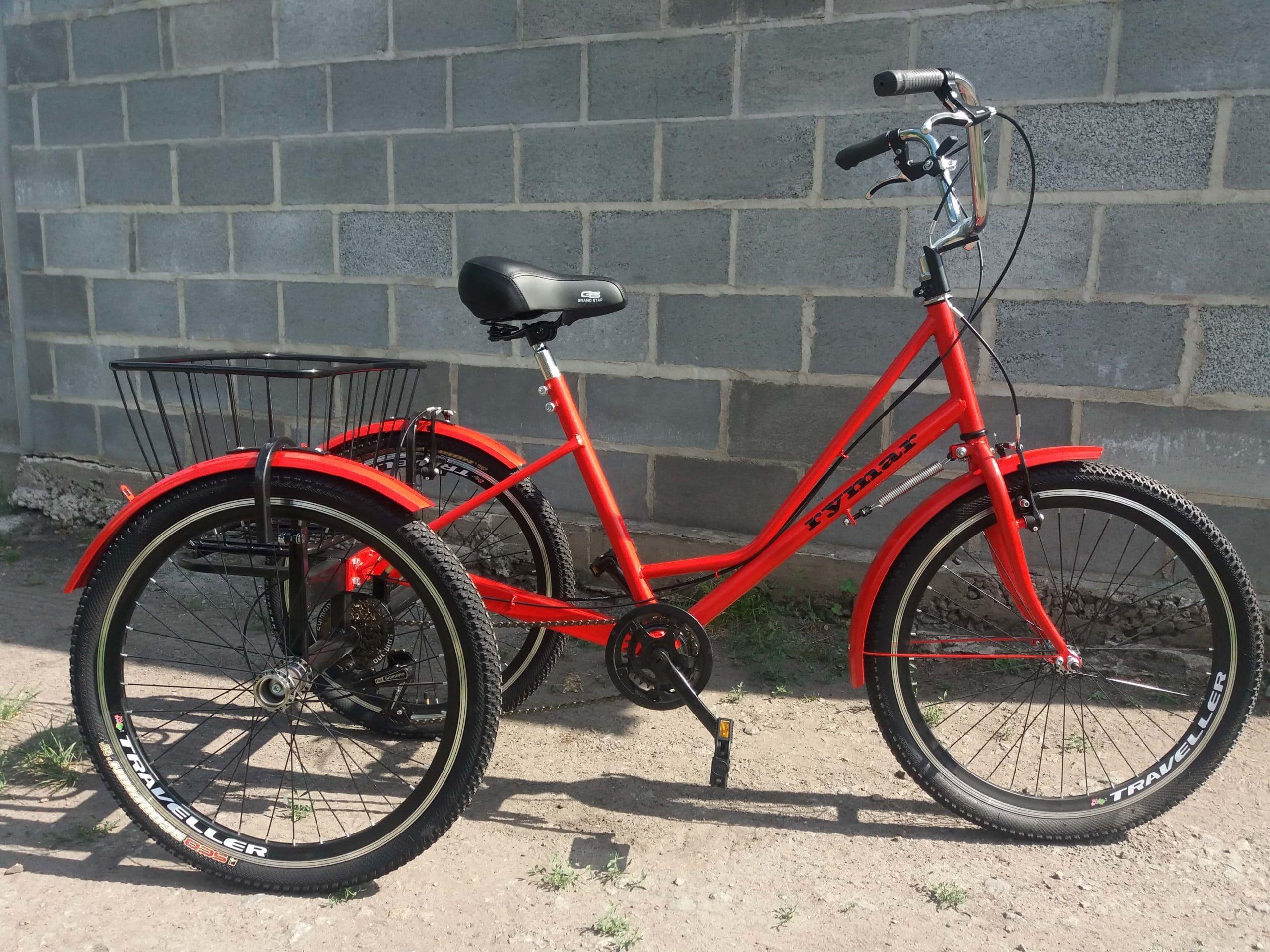 велосипед с корзинкой 24 дюйма