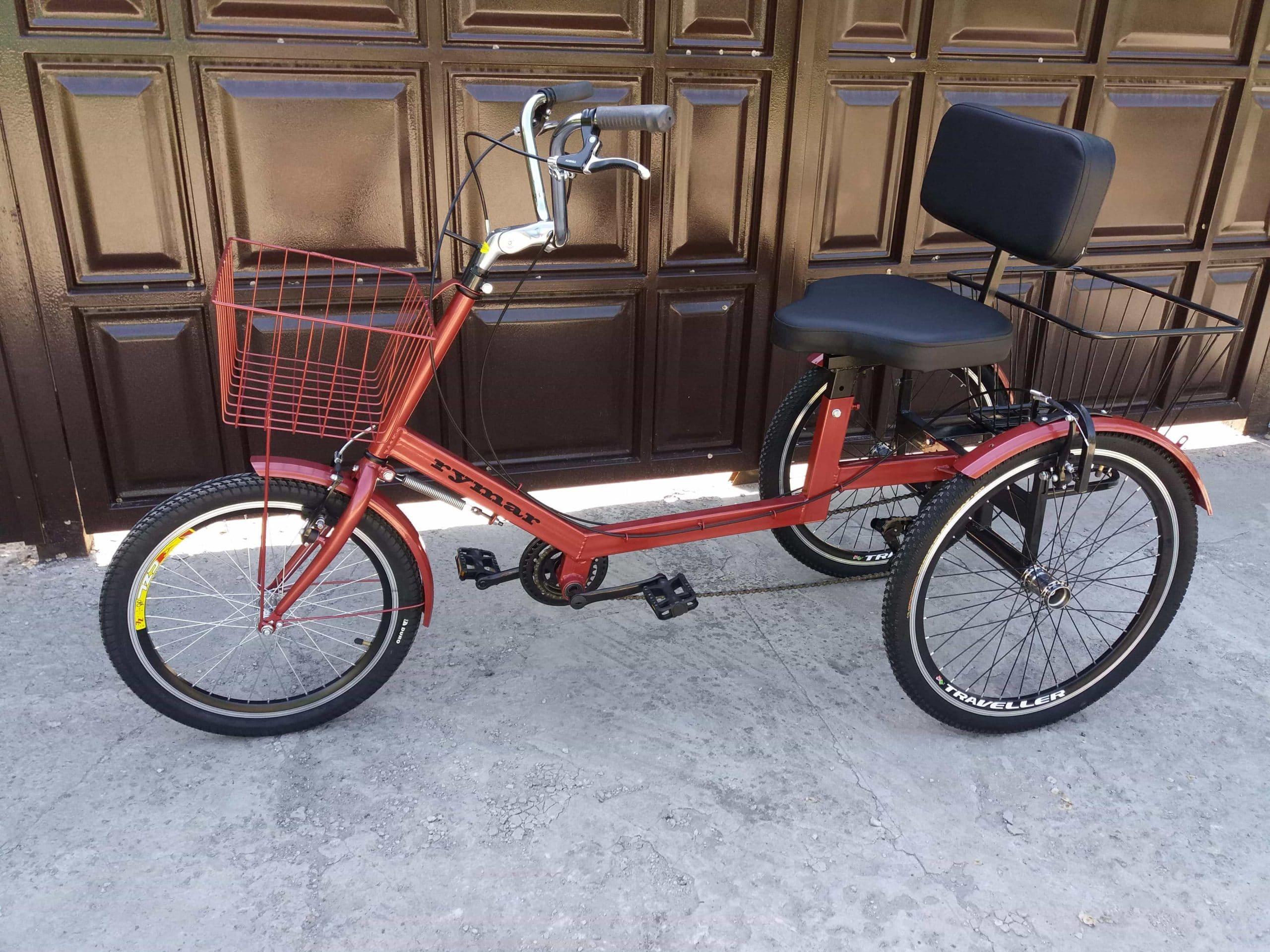 велосипед с креслом