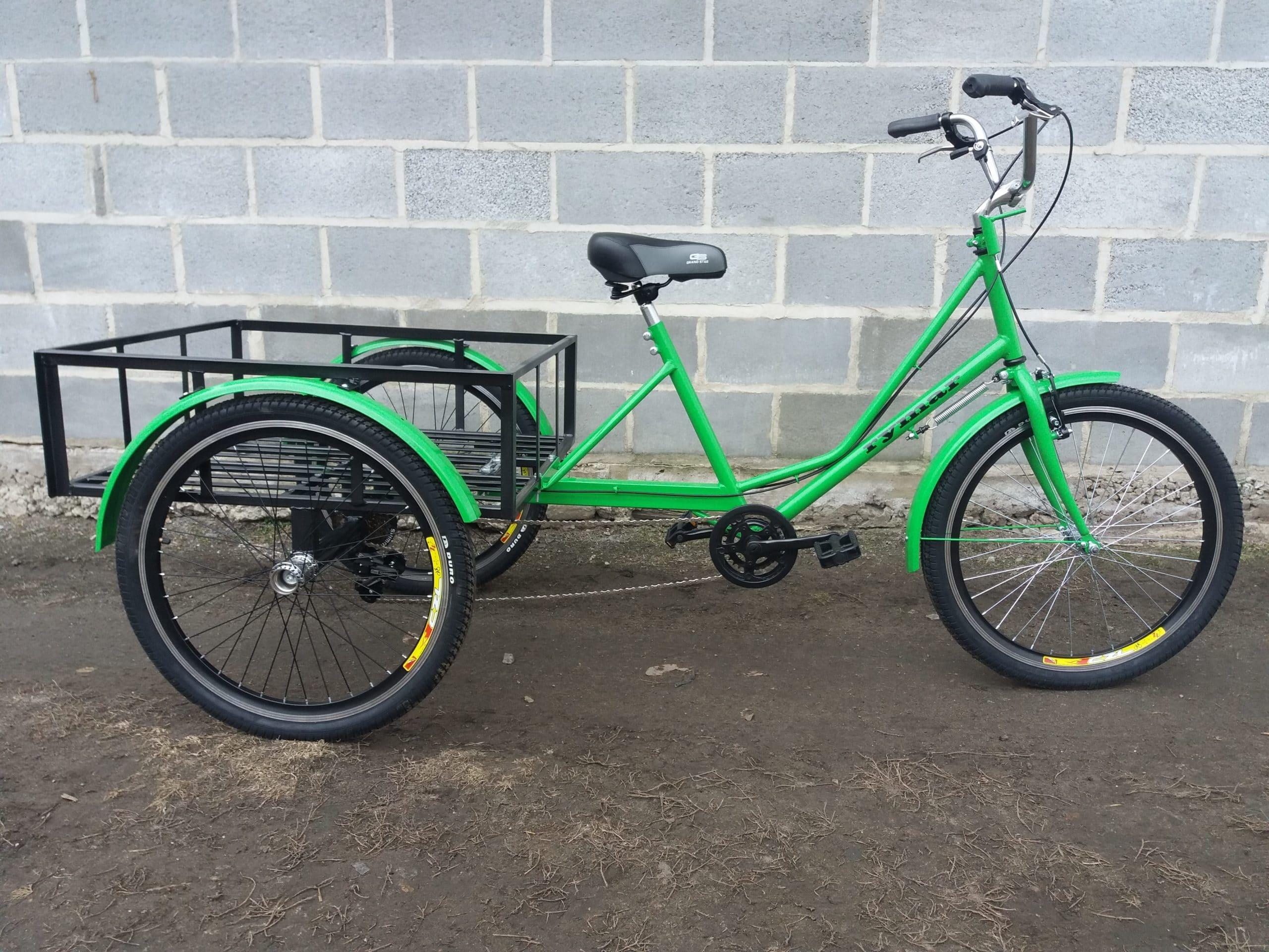 Велосипед трехколесный грузовой