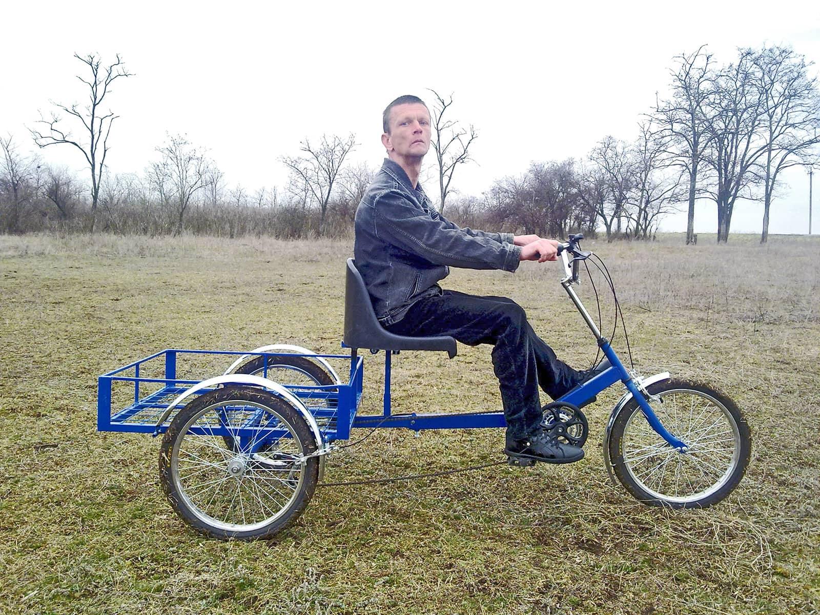 велосипед трехколесный фото