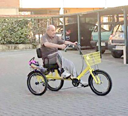 трехколесный грузовой велосипед из Италии