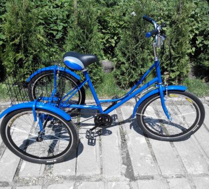 городской с корзинкой 24 велосипед