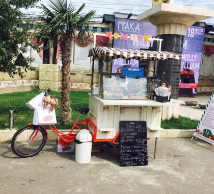велосипед для продажи булочек