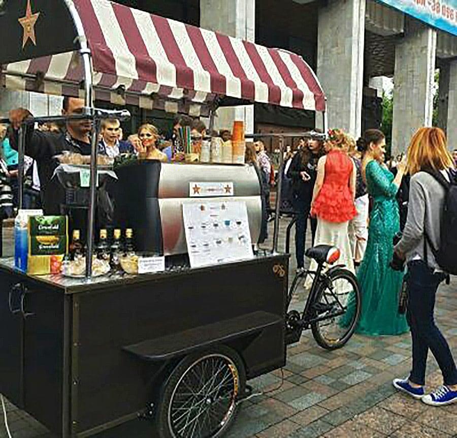 велосипед для уличной торговли