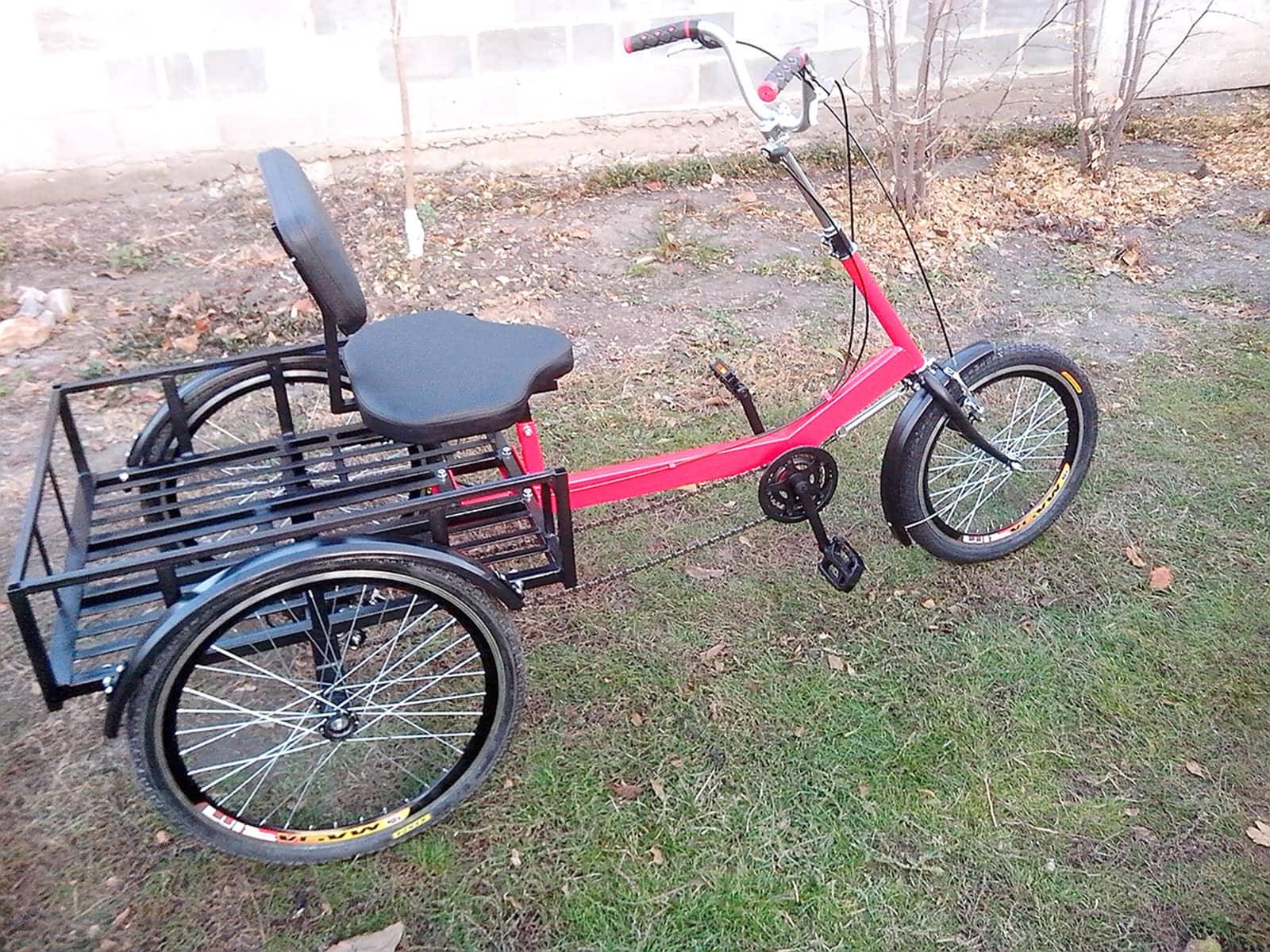 реабилитационный велосипед