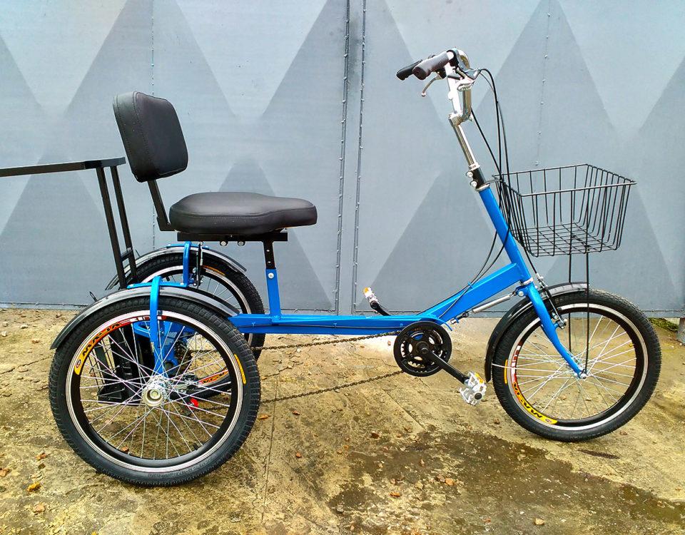 грузовой велосипед для инвалидов
