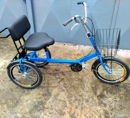 трехколесный велосипед для дедушки