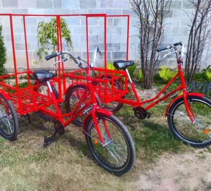 велосипеды для доставки по городу