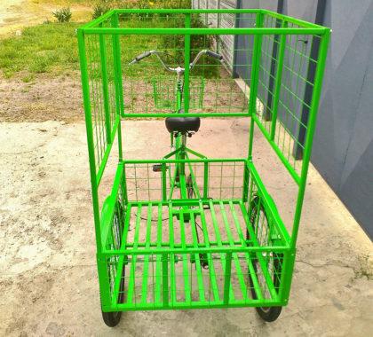 велосипед для торговли цветами