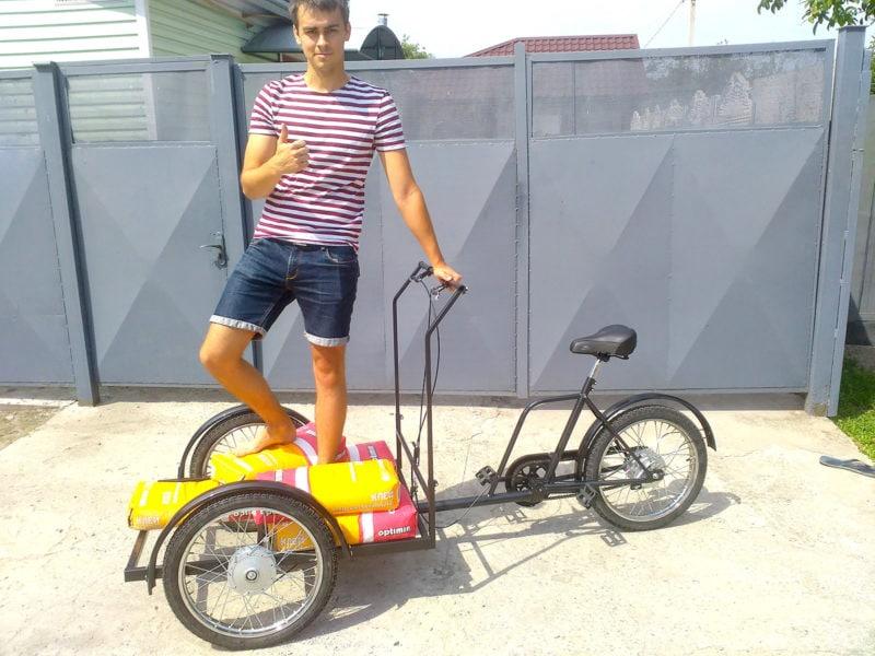 велосипед с весом 300 кг