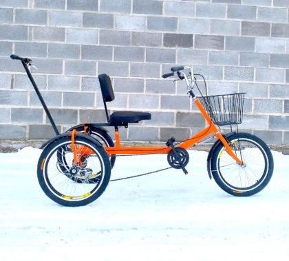 велосипед для молодой мамы