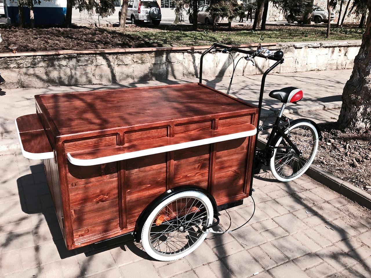 красивая велокофейня