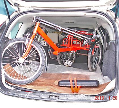 перевозка трехколесного велосипеда