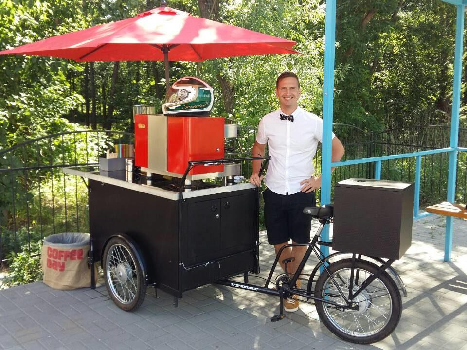 Велокофейня фото